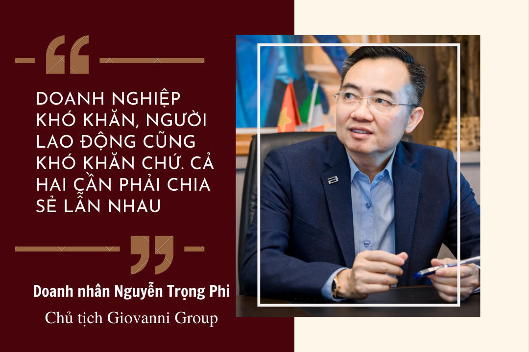 Chủ tịch Giovanni Group: